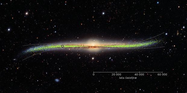 Kosmiczna finezja dysku galaktycznego Drogi Mlecznej