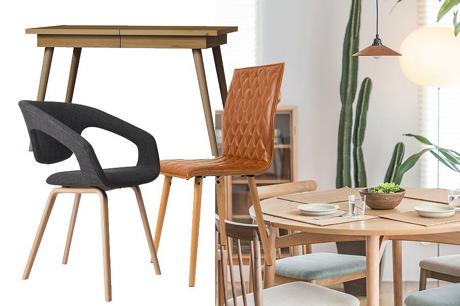 Stół i krzesła do jadalni