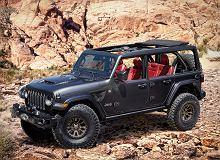 Jeep Wrangler w podwójnej roli filmowej. Zapowiada wersję hybrydową oraz model V8