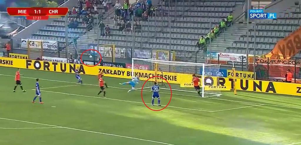 Fatalne pudło w 1. lidze