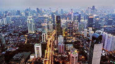 Dżakarta, stolica Indonezji.