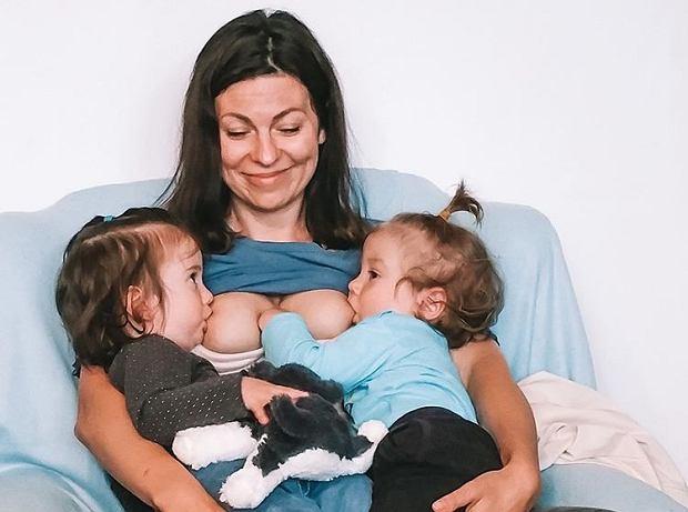 Mama trójki dzieci o karmieniu bliźniąt: Zabranie wcześniaków na żądanie do domu to nie jest zbrodnia