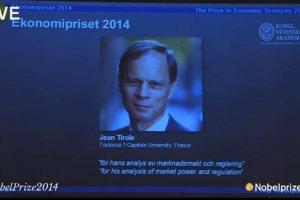 Francuz Jean Tirole laureatem Nobla z ekonomii