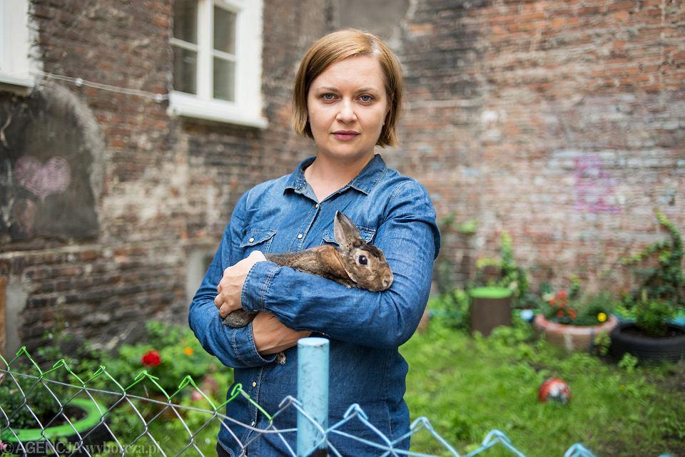 Dobroslawa Gogloza ze Stowarzyszenia Otwarte Klatki