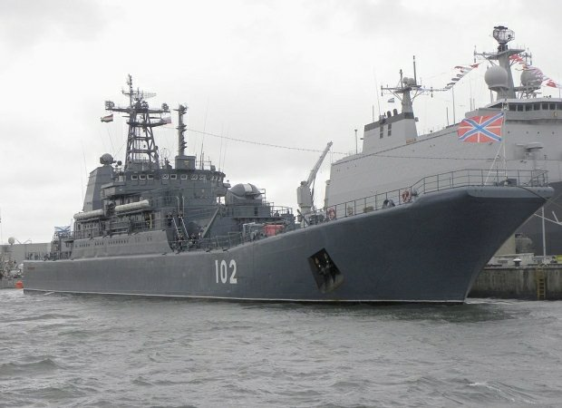 Okręt desantowy projektu 775