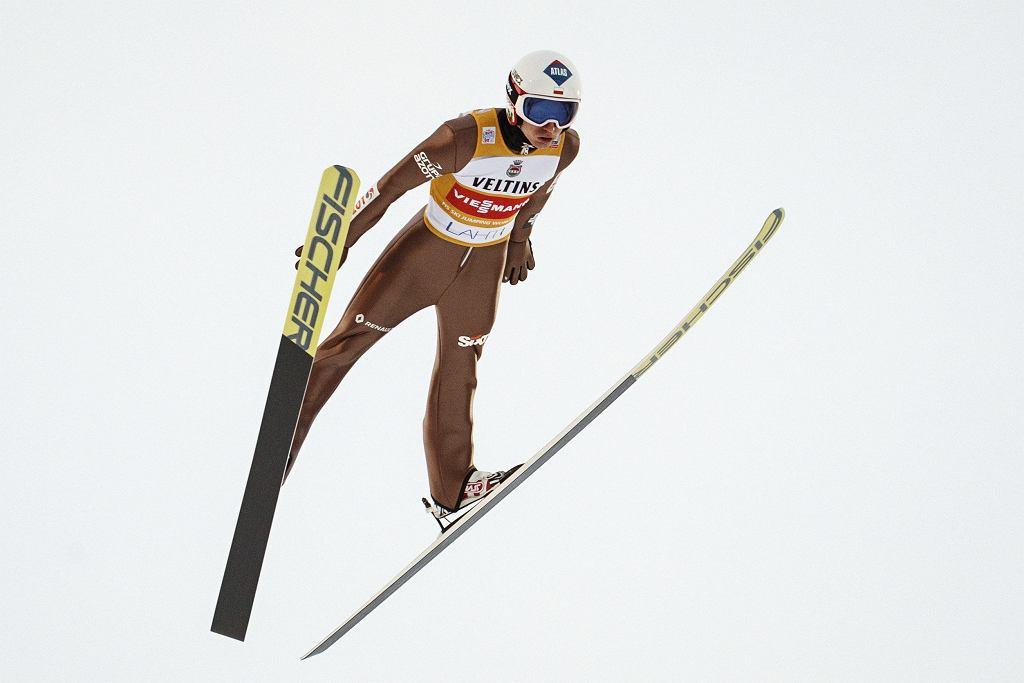 Kamil Stoch w Lahti, 4.03.2018.