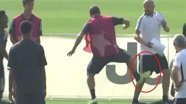 Gonzalo Higuain na treningu Juventusu