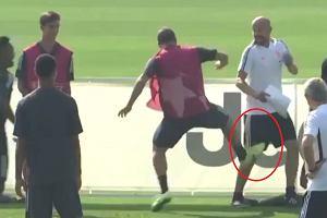 Gonzalo Higuain oszalał?! Dziwne zachowanie napastnika podczas treningu Juventusu [WIDEO]