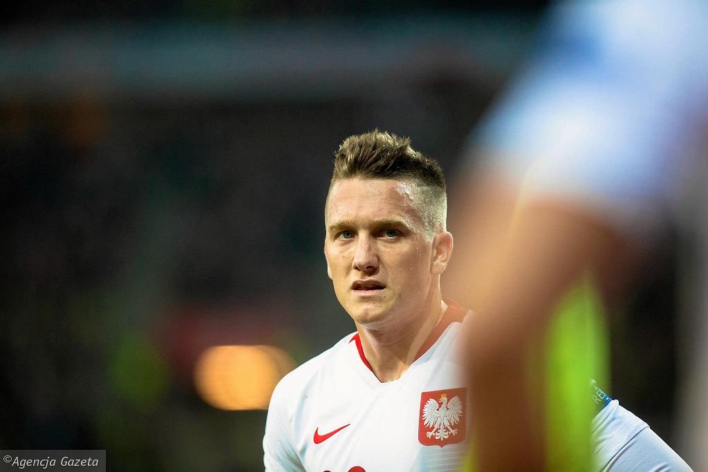 Polska - Czechy 0:1 na Stadionie Energa w Gdańsku. Piotr Zieliński