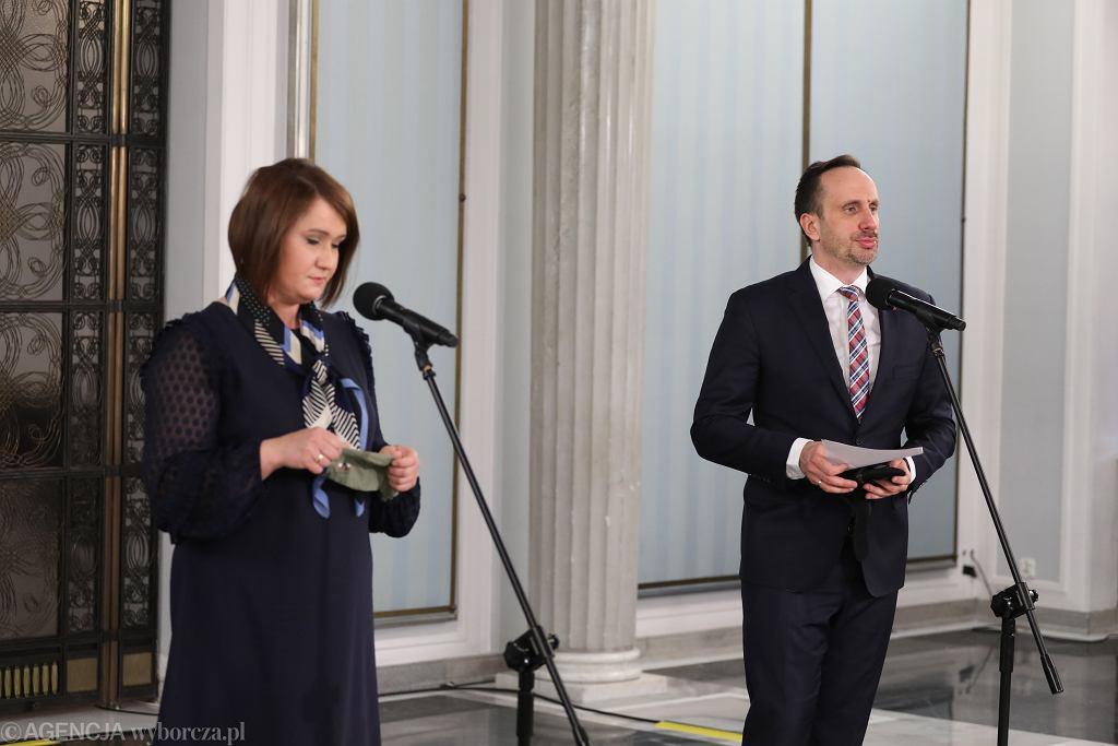 Anna Maria Siarkowska i Janusz Kowalski