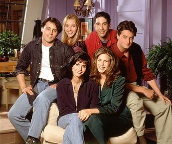 Bohaterowie serialu 'Przyjaciele' na fotografii promocyjnej