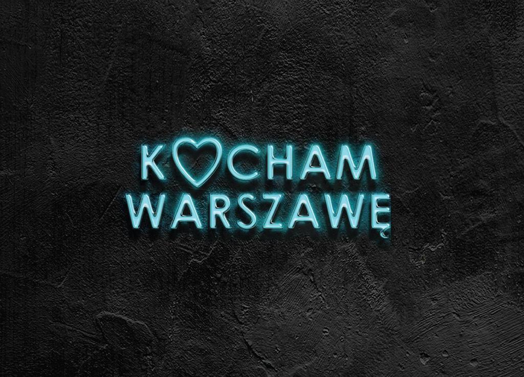 Neon Kocham Warszawę