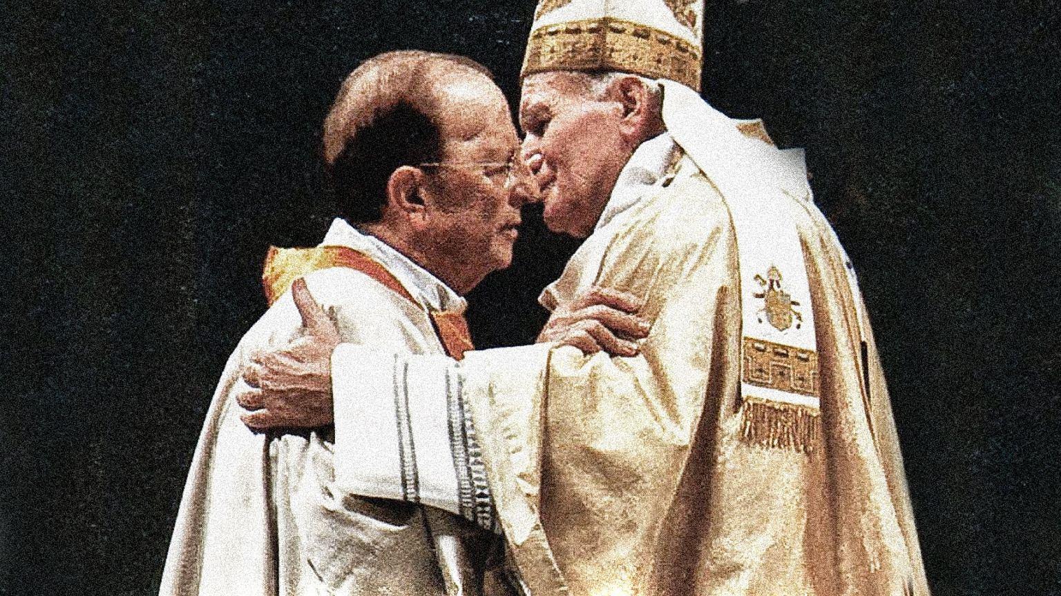 Jak ksiądz-bigamista i pedofil, który gwałcił własne dzieci, wkradł się w łaski Jana Pawła II