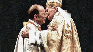 Papież Jan Paweł II i ojciec Marcial Maciel Degollado