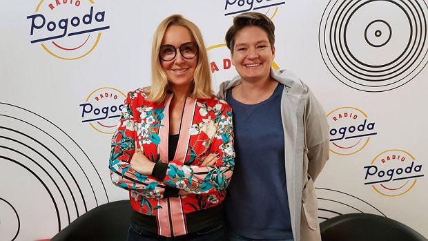 Agata Młynarska była gościem Radia Pogoda!