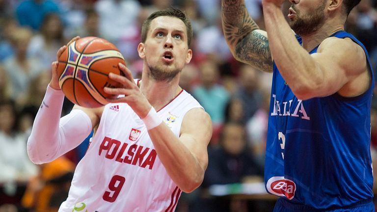 Ergo Arena. Polska - Włochy 94:78 w meczu eliminacji do mistrzostw świata. Mateusz Ponitka