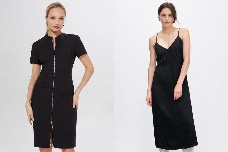 Czarne sukienki na większe wyjście