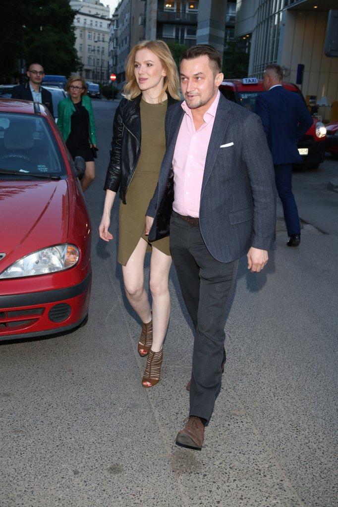 Joanna Majstrak i Piotr Guział