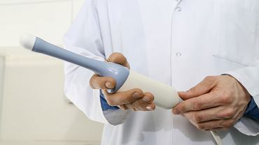 Usg ginekologiczne (transwaginalne) wykonywane jest specjalną głowicą