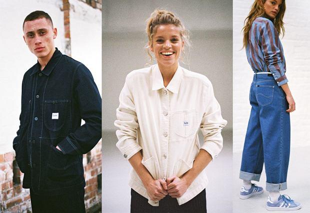 Kolekcja Lee na wiosnę 2019 to kontynuuje modę na lata 90.
