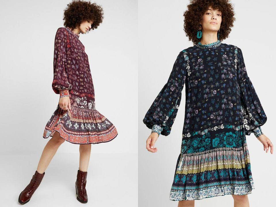 sukienki w stylu etno Ivko