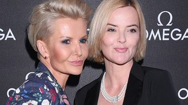 Joanna Racewicz i Monika Zamachowska