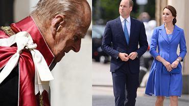 Książe Filip, Księżna Kate, Książe William