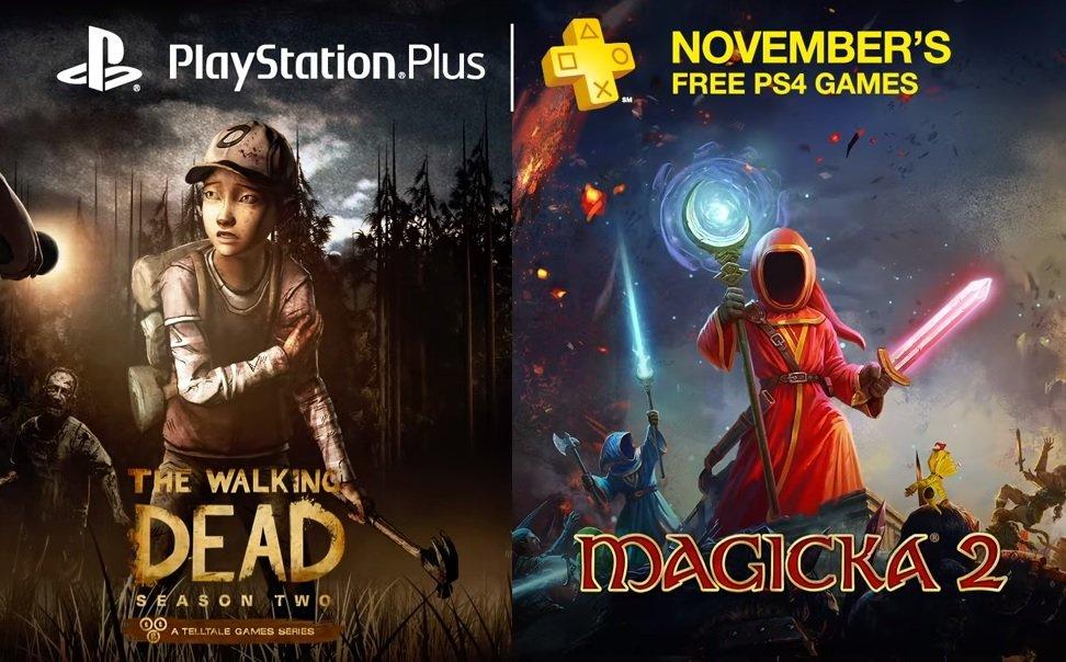 Oferta gier w Playstation Plus na listopad 2015 (PS4)