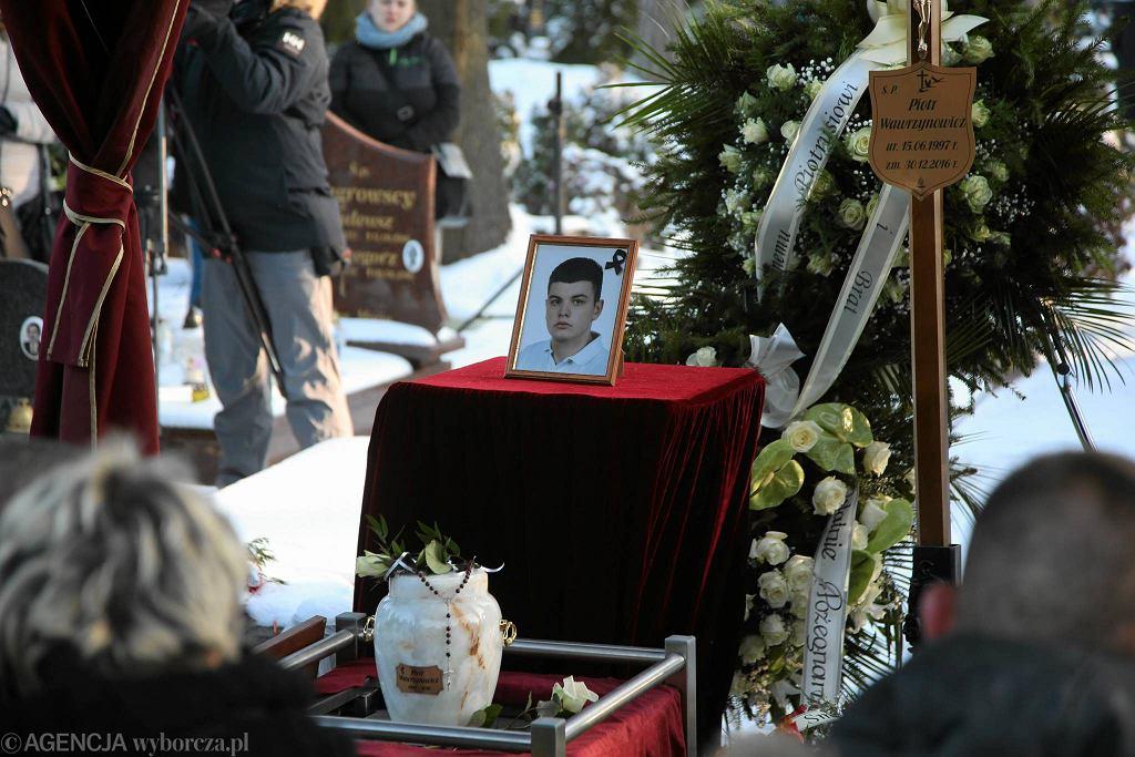 Pogrzeb 19-letniego niepełnosprawnego Piotra zabitego w Świnoujściu