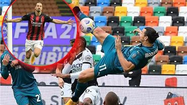 Zlatan Ibrahimović strzelił efektownego gola z Udinese