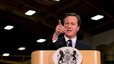 David Cameron wygłasza przemówienie o zaostrzeniu polityki imigracyjnej