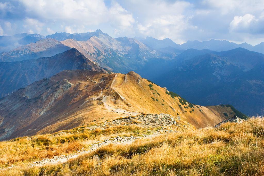 Szlaki na Czerwone Wierchy uchodzą za łatwe technicznie, jednak wymagają wiele skupienia i dobrej kondycji.