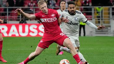 Spartak Moskwa - Legia Warszawa