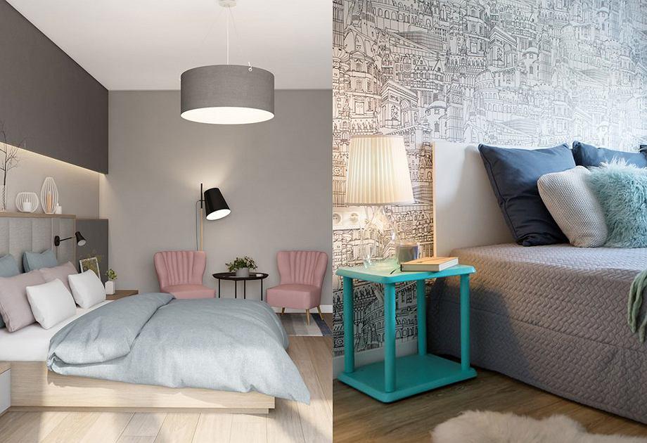 Szara sypialnia - jakie dodatki?