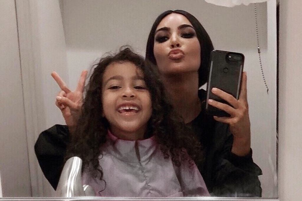 Kim Kardashian i North West