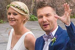Adam Sztaba i Agnieszka Dranikowska w sobotę 19 czerwca pobrali się. Ceremonia odbyła się w hotelu Bursztynowy Pałac w Świeszynie niedaleko Koszalina. Zobaczcie zdjęcia.
