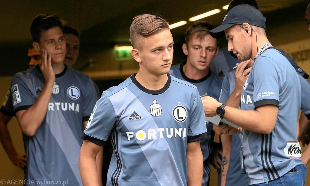 Michał Karbownik w akcji