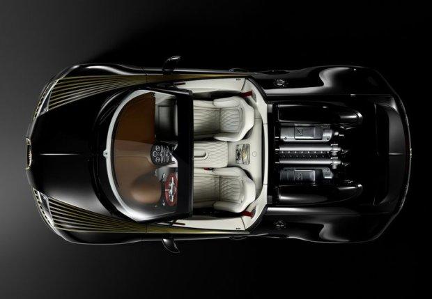 Bugatti Veyron Grand Sport Roadster Vitesse Black Bess 2014