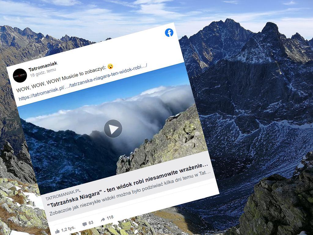W Tatrach zaobserwowano niezwykłe zjawisko