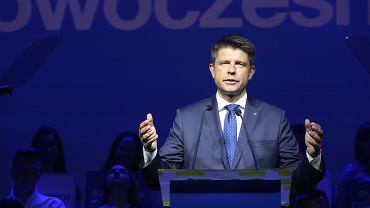 Ryszard Petru na 1. urodzinach partii Nowoczesna (fot. Sławomir Kamiński/AG)