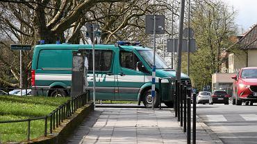 Wypadek busa Żandarmerii Wojskowej. Do zderzenia doszło na A4 w kier. Wrocławia