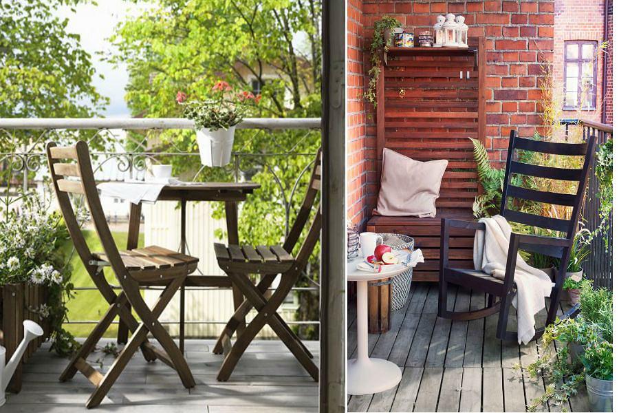 Idealne meble balkonowe
