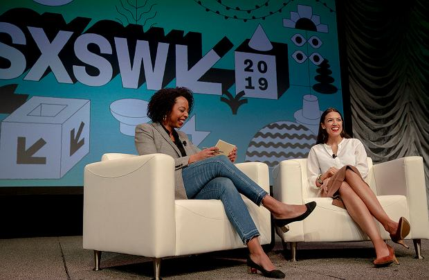 Alexandria Ocasio-Cortez na SXSW 2019