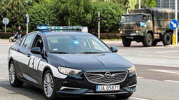 Samochód Żandarmerii Wojskowej
