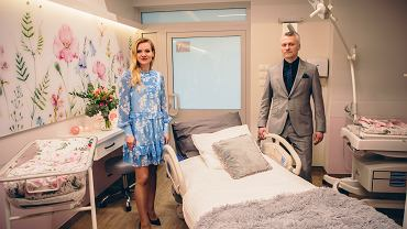 W Poznaniu wyremontowano porodówkę. Teraz wygląda jak ekskluzywna klinika