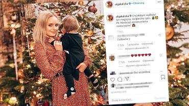 Olga Kalicka podsumowała pierwszy rok macierzyństwa. Za nią wiele 'pierwszych razów' m.in. pierwsze Święta spędzone z synkiem. Przed nią jeszcze wiele wyjątkowych wydarzeń