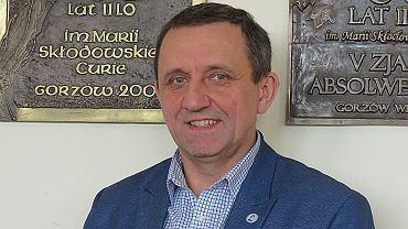 Tomasz Pluta, dyrektor II LO w Gorzowie