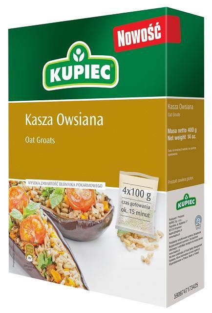 Kupiec - Kasza owsiana