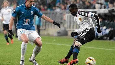 Lech Poznań - FC Basel 0:1. Darko Jevtić