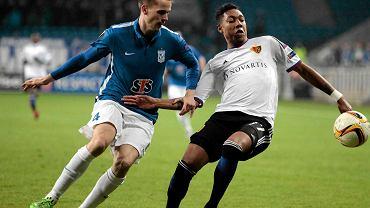 Lech Poznań - FC Basel 0:1. Tomasz Kędziora
